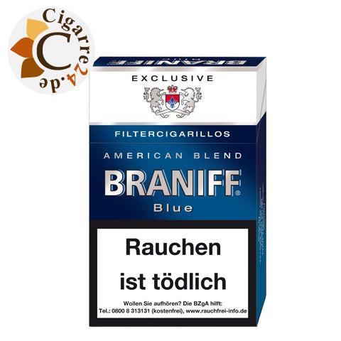 Braniff Exclusiv Blue Filterzigarillos