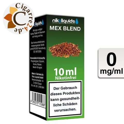 Nikoliquids E-Liquid Mex Blend ohne Nikotin