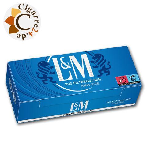 L&M Blue Label Hülsen, 200er