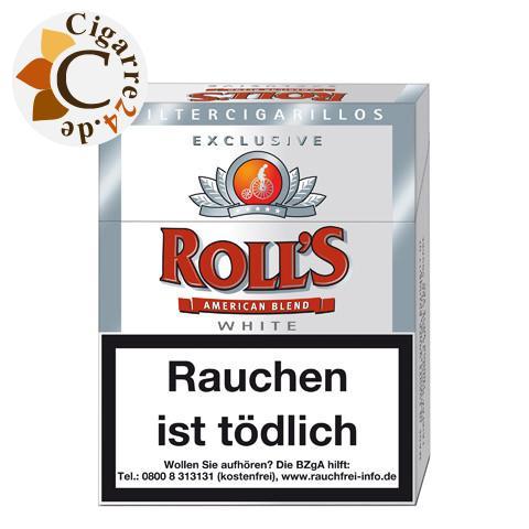 Roll's Exklusive White Filterzigarillo