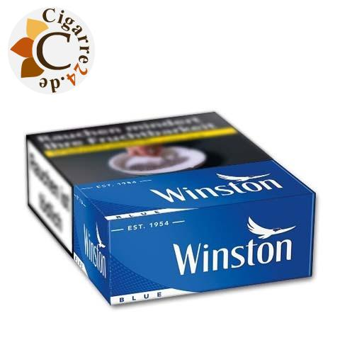 Winston Blue L-Box 7,00 € Zigaretten