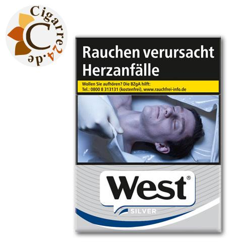 West Silver 8,00 € Zigaretten