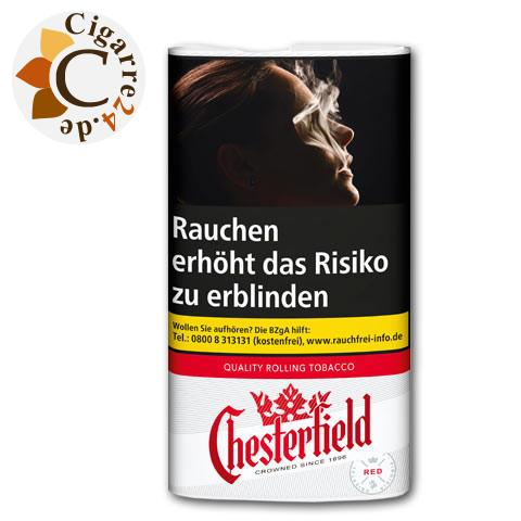 Chesterfield Rolling Tobacco Red, 30g