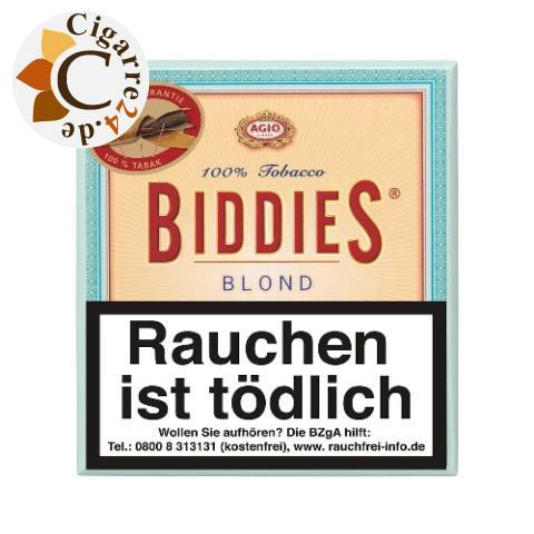 Agio Biddies Blond Zigarillos, 20er