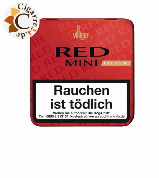Villiger Red Mini Filter, 20er