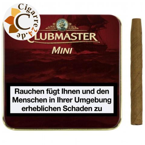 Clubmaster Mini Red Zigarillos, 20er