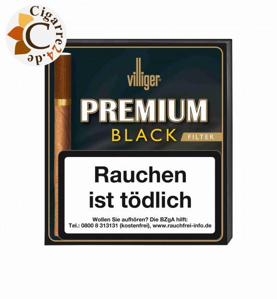 Villiger Premium Black Filter Zigarillos, 20er