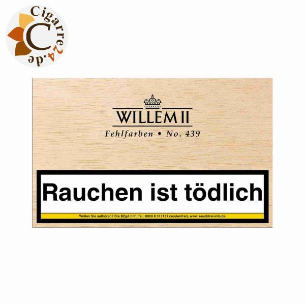 Willem II Fehlfarben 439 Sumatra Zigarillos, 50er