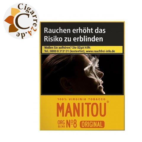 Manitou Organic Blend No. 8 Gold Big 8,00 € Zigaretten