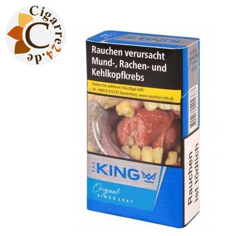 The King Original Blue 5,20 € Zigaretten