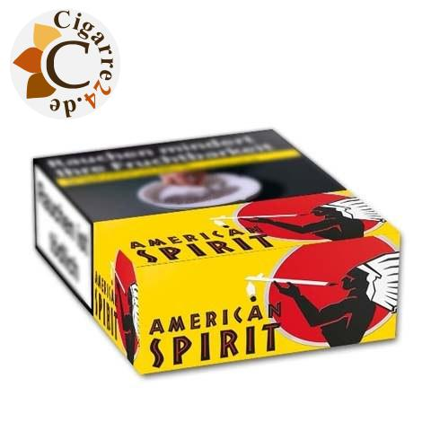 American Spirit Yellow 7,20 € Zigaretten