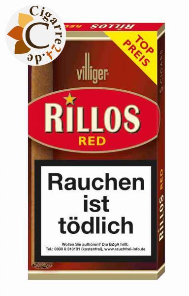 Rillos Red Zigarillos, 5er