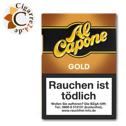 Al Capone Pockes Gold Filter, 18er