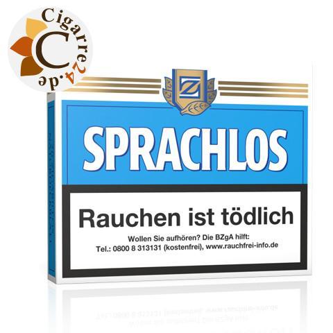 Sprachlos Sumatra Zigarillos, 20er