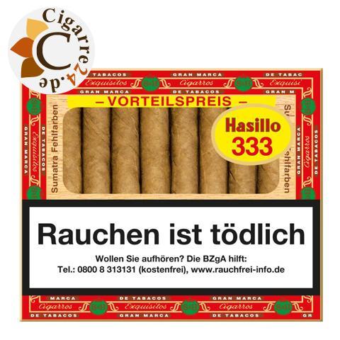 Hasillo Sumatra 333 Zigarillos, 50er