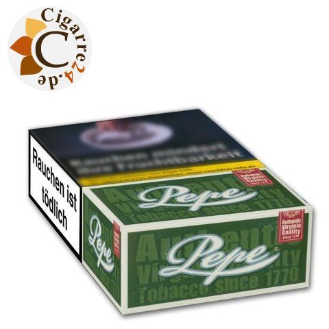Pepe Dark Green 6,50 € Zigaretten