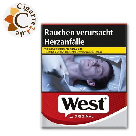 West Red 9,90 € Zigaretten