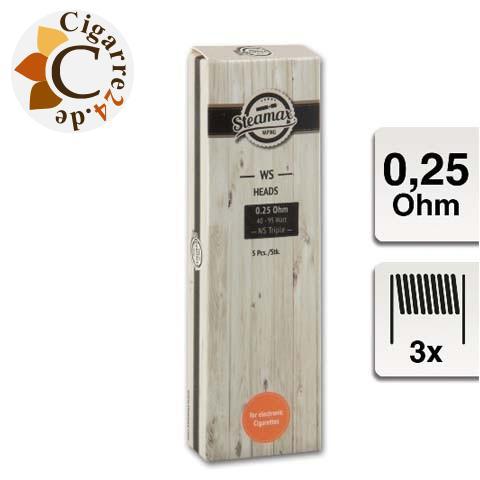 Steamax E-Clearomizercoil WS02-NS - 0.25 Ohm