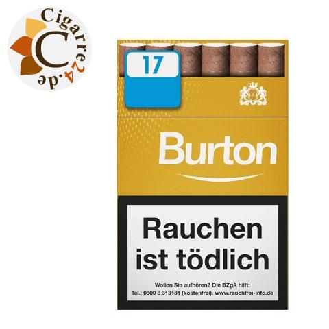 Burton Gold L Filterzigarillo