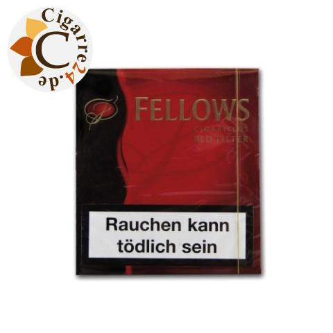 Clubmaster Fellows Red Filter Zigarillos, 20er