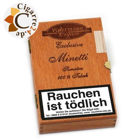 Woermann Exclusive Minetti Sumatra Zigarillos, 16er