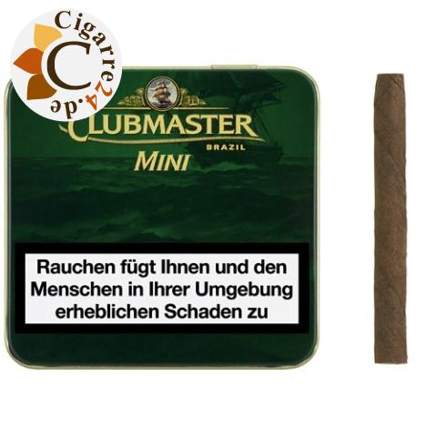 Clubmaster Mini Superior Brasil Zigarillos, 20er