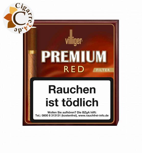 Villiger Premium Red Filter Zigarillos, 20er