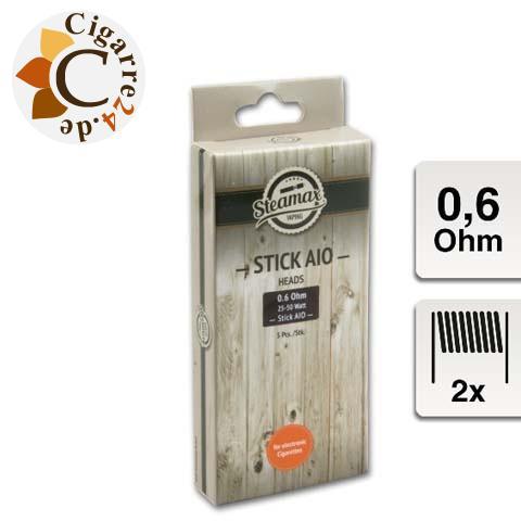 Steamax E-Clearomizercoil Stick AIO Dual - 0.4 Ohm