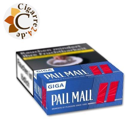 Pall Mall Red Giga 10,00 € Zigaretten