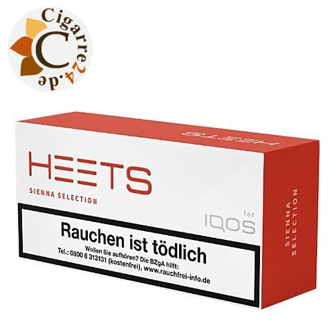 Heets Sienna Selection Tobacco Sticks