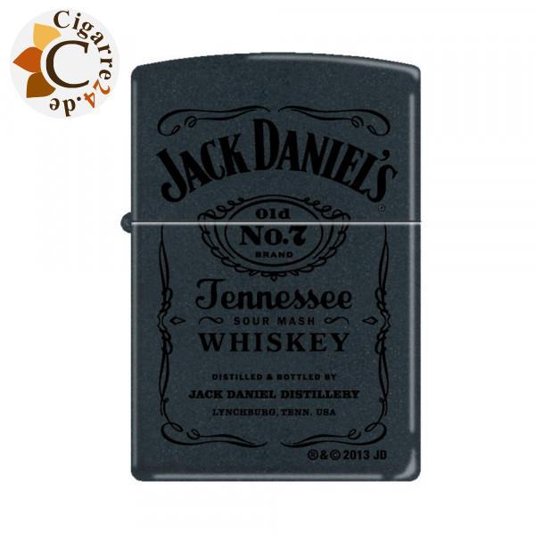 Zippo Schwarz matt Jack Daniel's