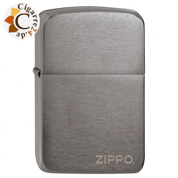 Zippo Black Ice Replica 1941 Zippo Logo