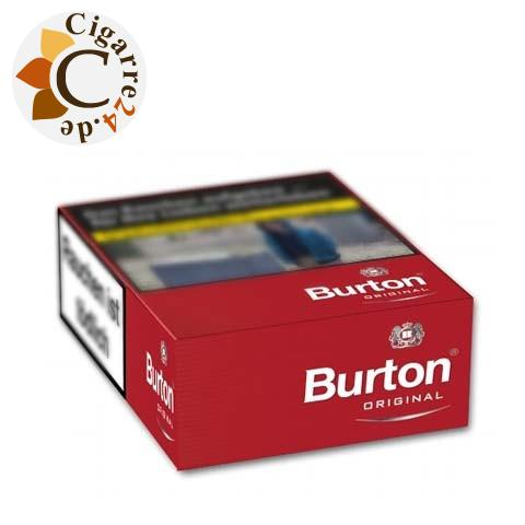 Burton Original XL-Box 7,00 € Zigaretten