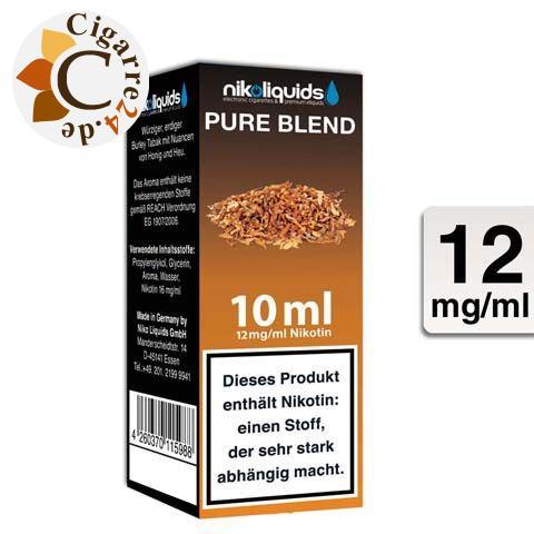 Nikoliquids E-Liquid Pure Blend 12mg Nikotin