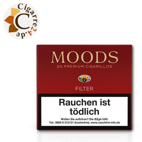 Dannemann Moods-Filter, 20er