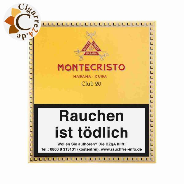 Montecristo Club Zigarillos, 20er