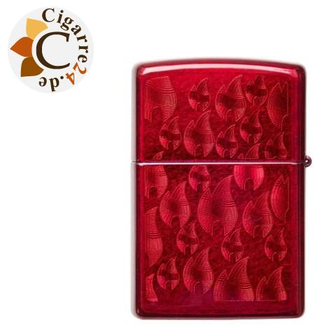 Zippo Candy Apple Red Iced