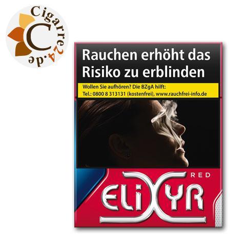 Elixyr Red Big 6,80 € Zigaretten