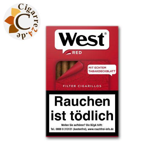 West Red Filterzigarillo