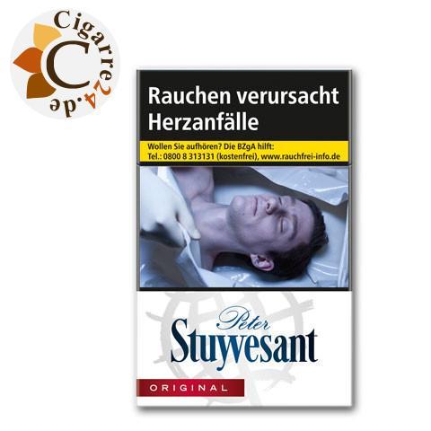 Peter Stuyvesant 7,50 € Zigaretten