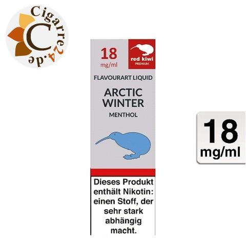 Red Kiwi E-Liquid Arctic Winter [Menthol] 18mg Nikotin
