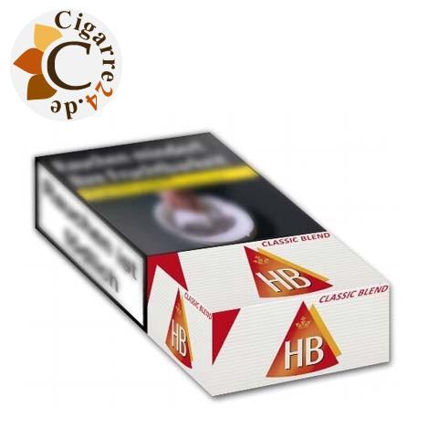 HB Classic Blend 100 7,70 € Zigaretten