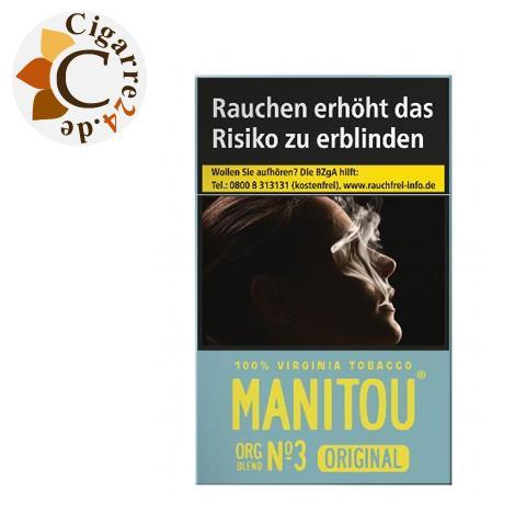 Manitou Organic Blend No. 3 Sky 6,90 € Zigaretten