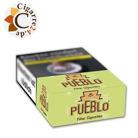 Pueblo Green Filter 6,10 € Zigaretten