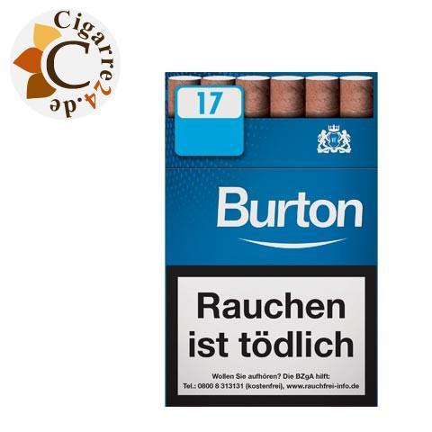 Burton Blue L Filterzigarillo