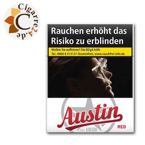 Austin Red Giga Pack 7,00 € Zigaretten