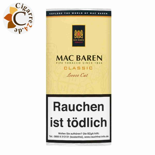Mac Baren Vanilla Cream Loose Cut, 50g