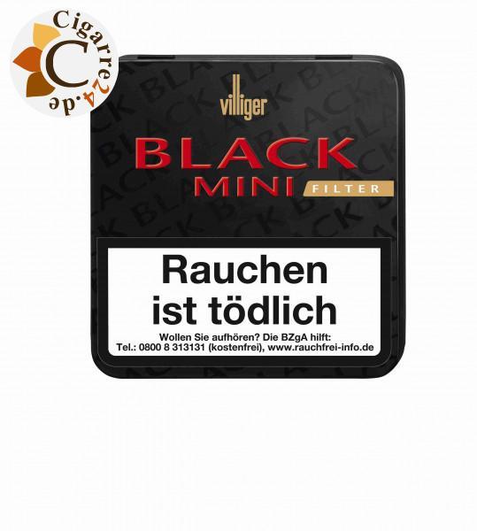 Villiger Black Mini Sumatra Filter, 20er