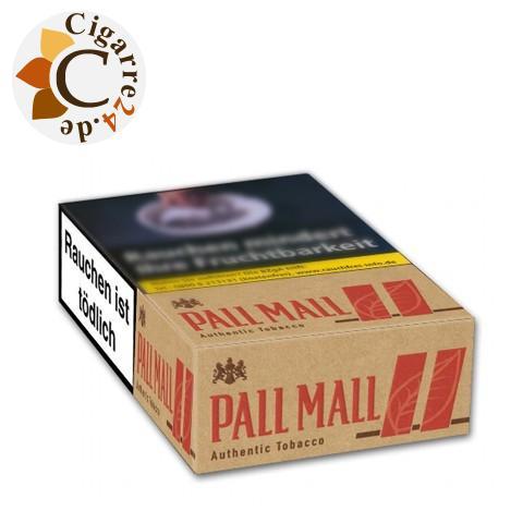 Pall Mall Authentic Tobacco Red 6,80 € Zigaretten
