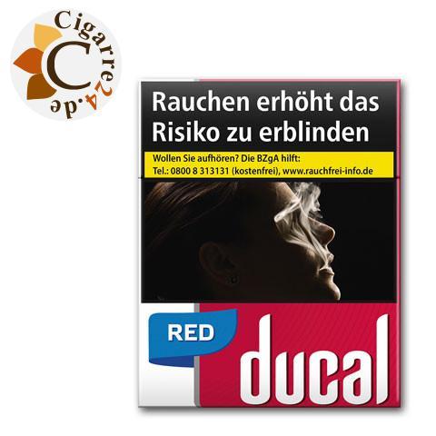 Ducal Red 7,00 € Zigaretten